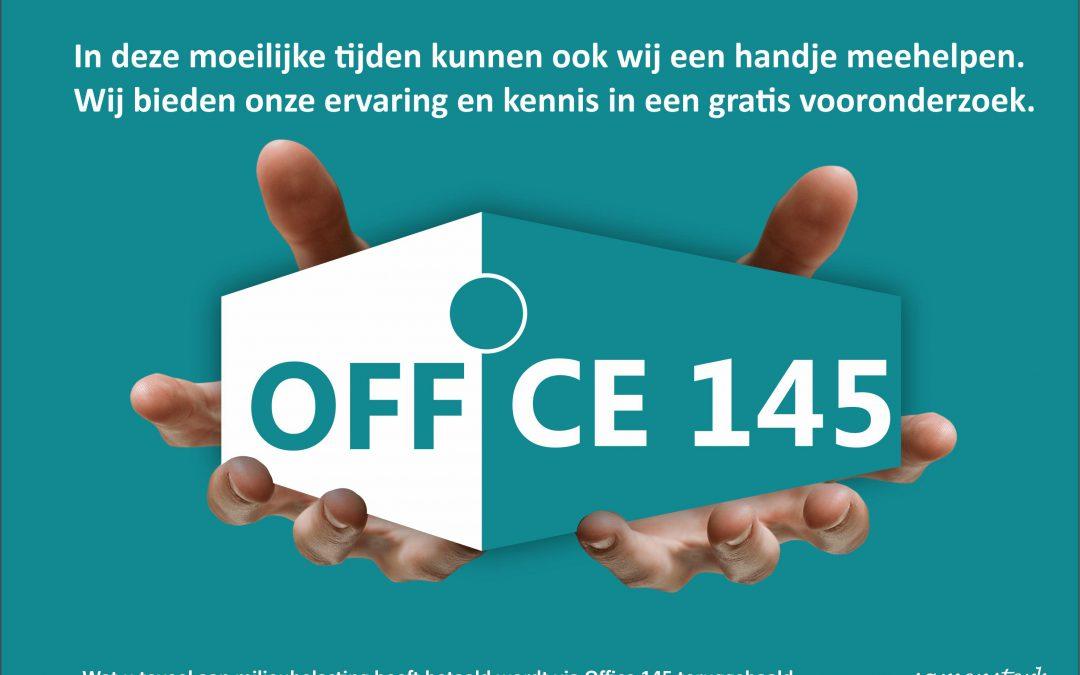 Office 145 helpt een handje mee